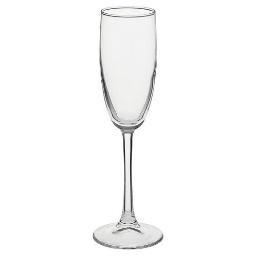 Бокал для шампанского на тонкой ножке